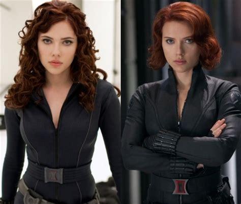 What Will Black Widow Hair Look Like Captain America