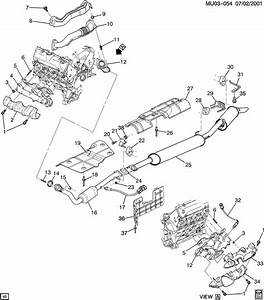 Wiring Diagram Database  2004 Chevy Malibu Exhaust System
