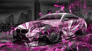 BMW M6 Hamann Tuning Anime Bleach Aerography City Car 2015