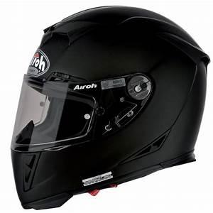 Casque Moto Airoh : casque airoh gp500 noir mat au meilleur prix ~ Medecine-chirurgie-esthetiques.com Avis de Voitures