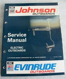 1991 Johnson Evinrude 508140 Outboard Service Manual