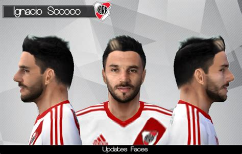 Face Nacho Scocco | River Plate | By FeerBJ - Patch Imaster