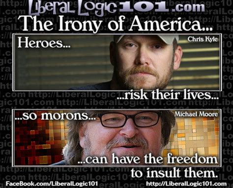 Chris Kyle Meme Irony Of America As Related To Chris Kyle And Michael