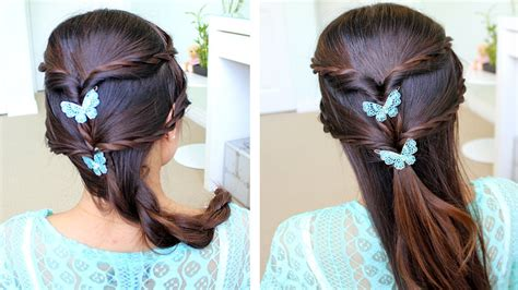fancy rope braid  updo hairstyle  medium