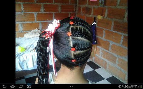 peinados  trenzas  ninas  como organizar la