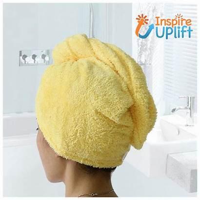 Bath Towels Dry Towel Microfiber Drying Inspireuplift