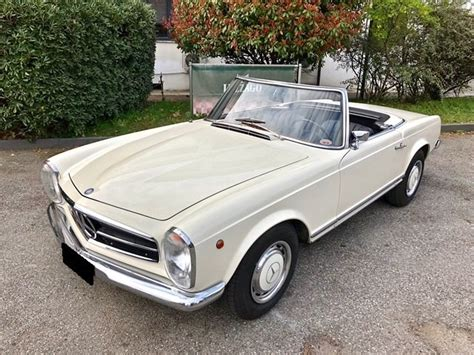 This mercedes 280sl was sold new here in sweden back in 1970. 1968 MERCEDES BENZ - 280 SL PAGODA AUTOMATIC For Sale | Car And Classic