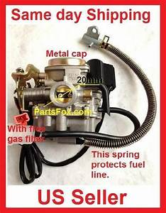 Performance Carb Gy6 60cc Pd19 19mm Carburetor Fit 50cc 49cc Scooter Taotao