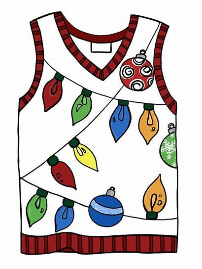 Ugly Christmas Sweater Clipart Sweaters Clipartmag Getdrawings