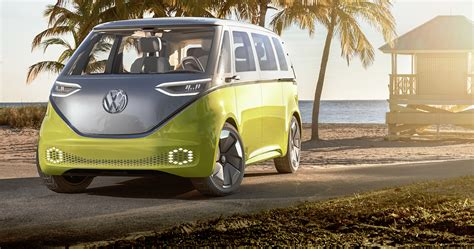 new volkswagen bus electric vw aims to plug into nostalgia with electric bus nerdwallet