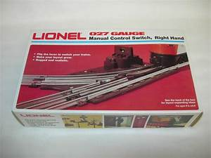 Lionel Fastrack Manual Switch