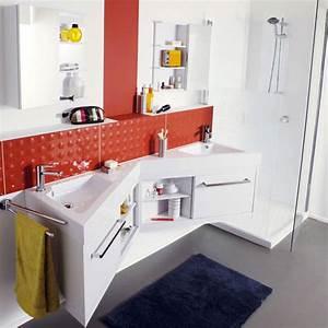 Meuble Salle Bain Castorama : salle de bain castorama comment adopter le bacton cirac comme revatement dans une salle de ~ Melissatoandfro.com Idées de Décoration