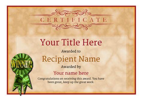 rifle shooting certificate templates add printable