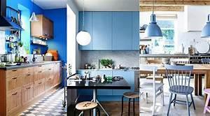 Cuisine bleu : 25 idées déco cuisine bleue
