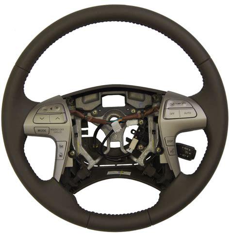 toyota steering wheel 2007 11 toyota camry steering wheel ash brown leather new