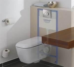 Toilettes Suspendues Grohe : l 39 importance du choix des toilettes un wc suspendu ~ Edinachiropracticcenter.com Idées de Décoration