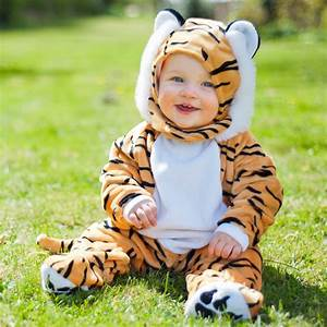 Dress Up by Design - Yellow & Black Tiger Baby Costume ...