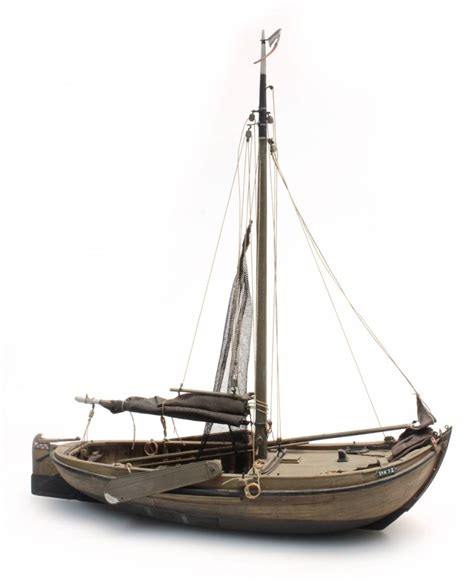 Boat Resin by Traditional Zuiderzee Fishing Boat Resin Kit 1 87