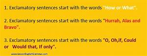 Conversion Or Transformation Of Exclamatory Assertive