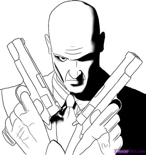 step    draw agent  hitman