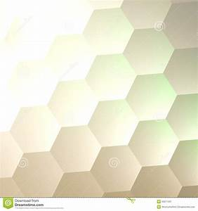 White Hexagon Wall Background. Simple Blank Copy Space ...