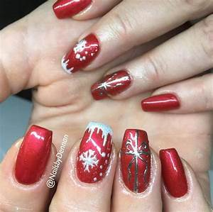 16 Sexy Red Nail Designs You Should Wear This Christmas