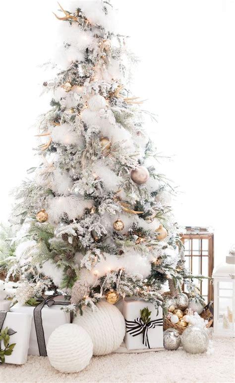 stylish ways  decorate  christmas tree  white
