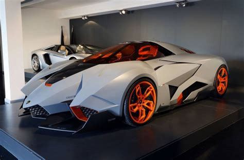 Lamborghini Egoista Goes On Permanent Display At