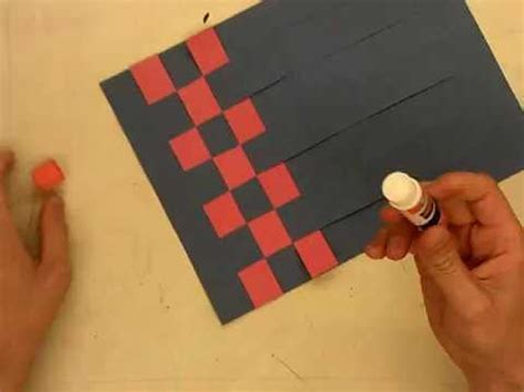paper weaving youtube