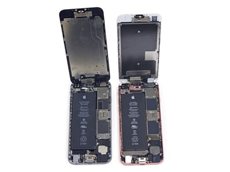iphone 6s battery iphone 6s teardown confirms smaller 1 715mah battery