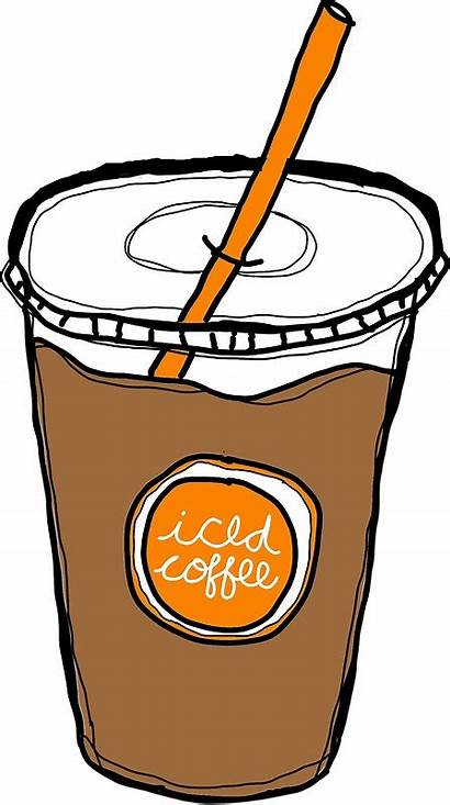 Coffee Iced Clip Drawing Clipground