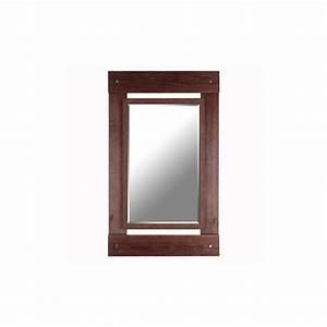 Mirrorize Canada Real Wood 30 U0026quot  X 43 U0026quot  Beveled Mirror