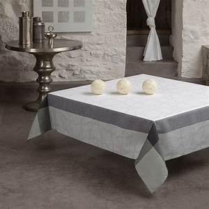 Nappe Jacquard Français : nappe pondich ry marbre nappes la table le jacquard ~ Teatrodelosmanantiales.com Idées de Décoration