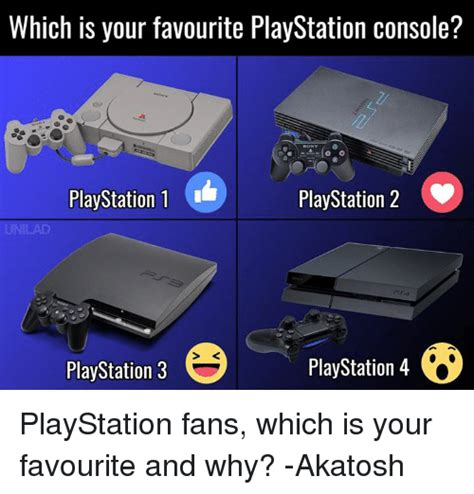 which is your favourite playstation console playstation 1 playstation 2 playstation 4