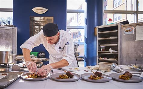 penn state chef spanos wins gold  culinary challenge