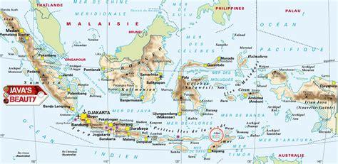 javas beauty album maps  indonesia javas beauty
