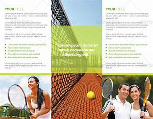 Free Brochure Maker Download Tennis Club Trifold Brochure By Studiorgb Graphicriver