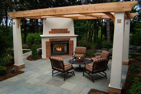 All About Outdoor Gas Fireplace Designs And Styles Home