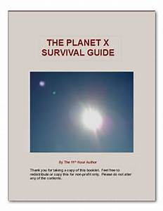 The Planet X Survival Guide | Download Free Ebooks, Legally