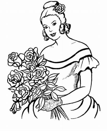 Coloring Pages Flowers Flower Sheets Valentine Printable