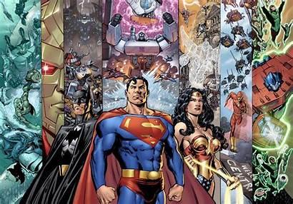 Justice League America Wallpapersafari Dc