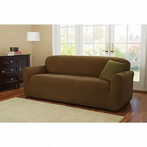 better homes and gardens one piece stretch fine corduroy With sectional sofa slipcovers walmart