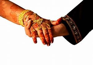 png image - Indian Wedding Hand Couple -free download.