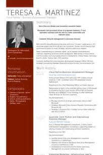 international curriculum vitae format pdf business development resume sles visualcv resume sles database