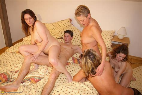 Its Party Time For These Mature Women Granny Nu