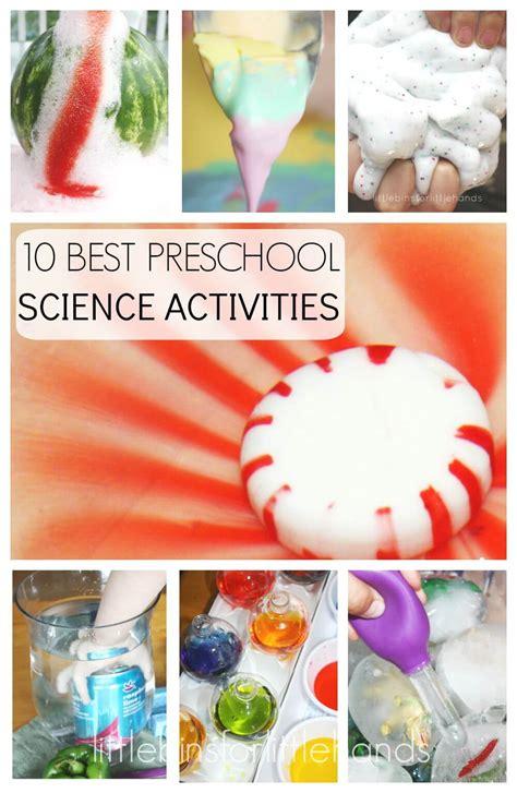 preschool science activities  experiments   school