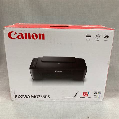 As a multifunction printer, the device can print, scan, and copy documents with excellent results. Canon PIXMA MG2550S Multifunction Printer - PS Auction - We value the future - Largest in net ...