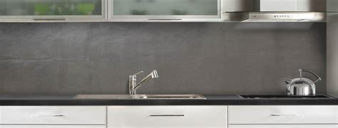 beton cire pour credence cuisine crédence de cuisine béton ciré c macredence com