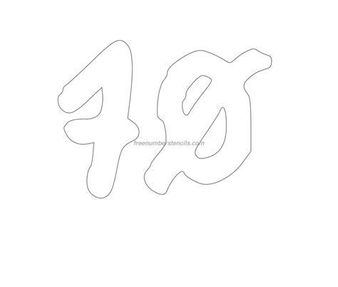 graffiti  number stencil freenumberstencilscom