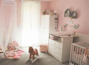 stunning idee couleur chambre petite fille photos With couleur chambre petite fille